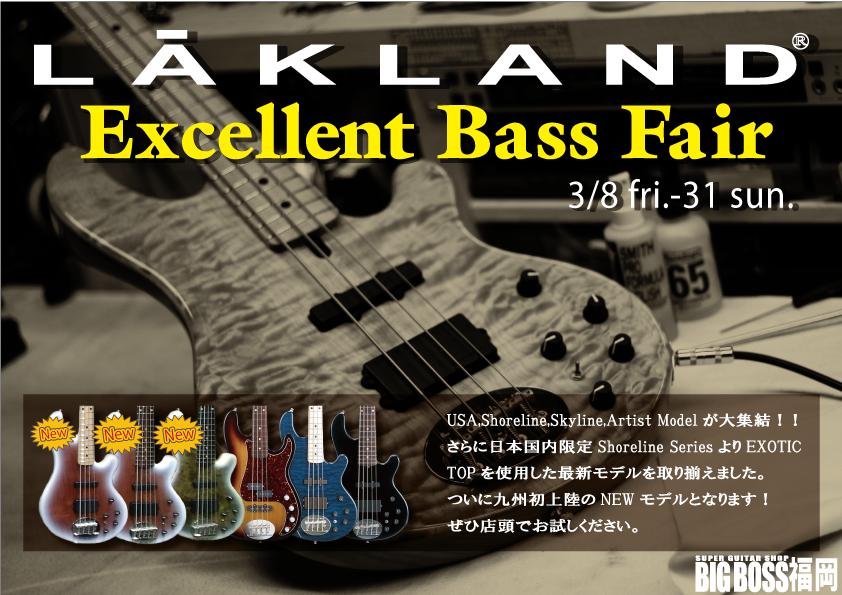 LAKLAND Excellent Bass FAIR!!