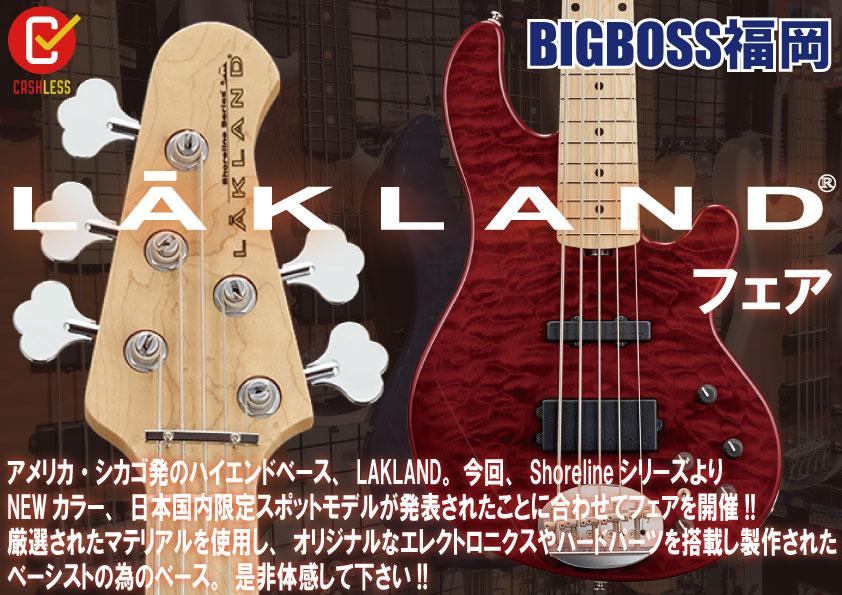 LAKLAND Bass FAIR!!