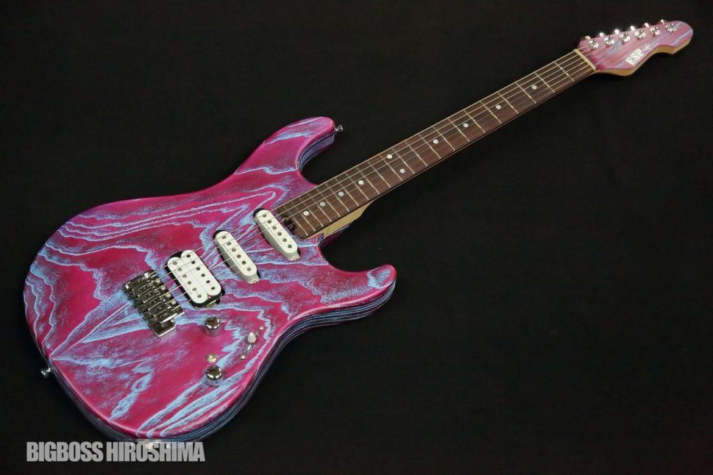 SNAPPER-HR #Sand Blast Indigo Purple w/Blue Filler
