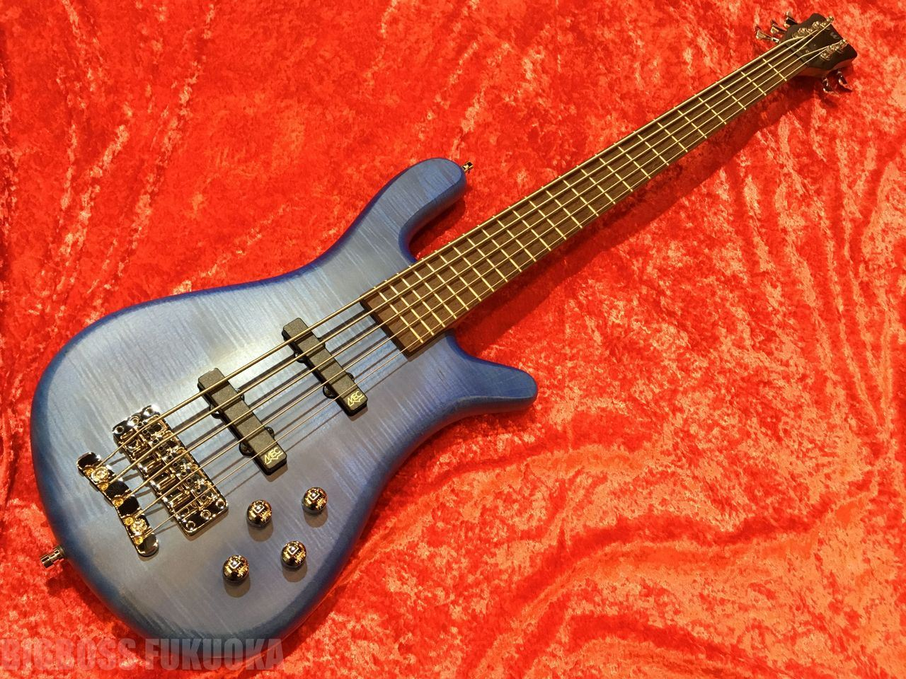 【ポイント10倍】【即納可能】Warwick Team Built Streamer LX5 OFC (Ocean Blue) 福岡店
