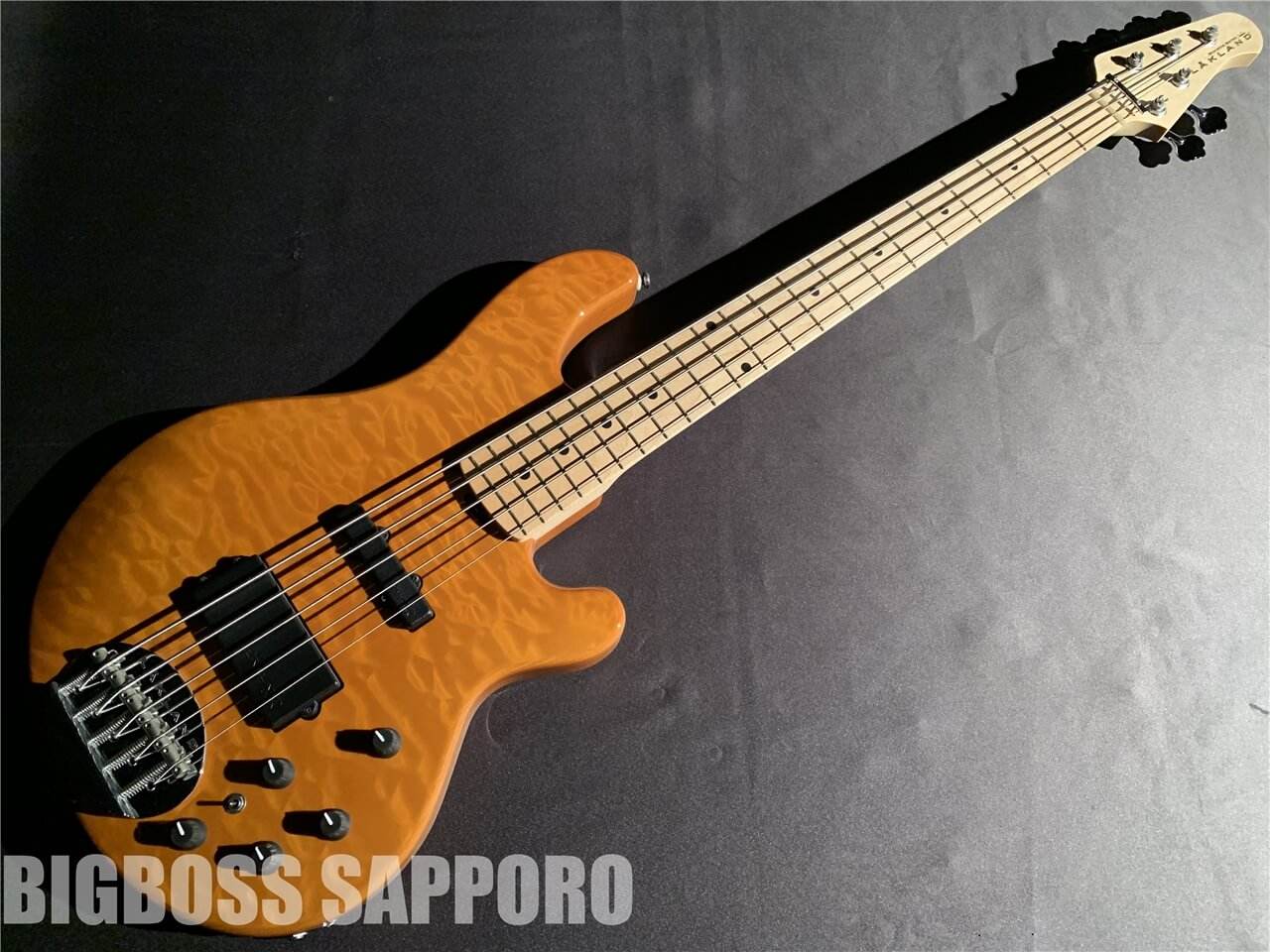 【即納可能】LAKLAND(レイクランド) 	SL55-94 Deluxe (Amber Translucent / Maple FB) 札幌店
