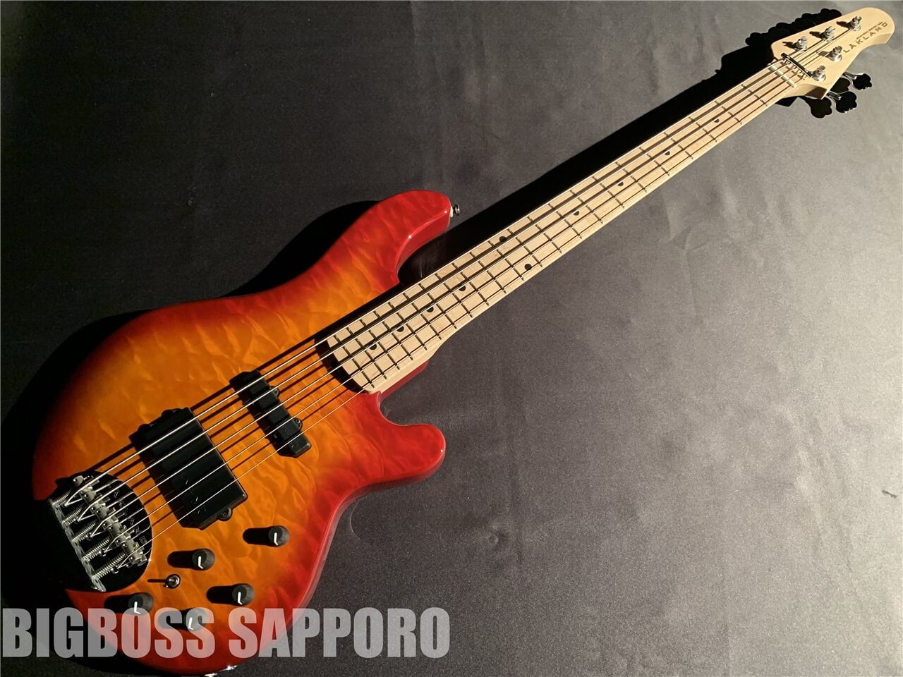 【即納可能】LAKLAND(レイクランド) 	SL55-94 Deluxe (Cherry Sunburst / Maple FB) 札幌店