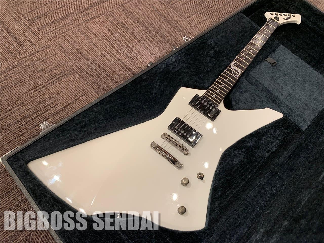 【即納可能/美品中古】ESP(イーエスピー) SNAKEBYTE / Snow White (METALLICA/James Hetfieldモデル) 仙台店