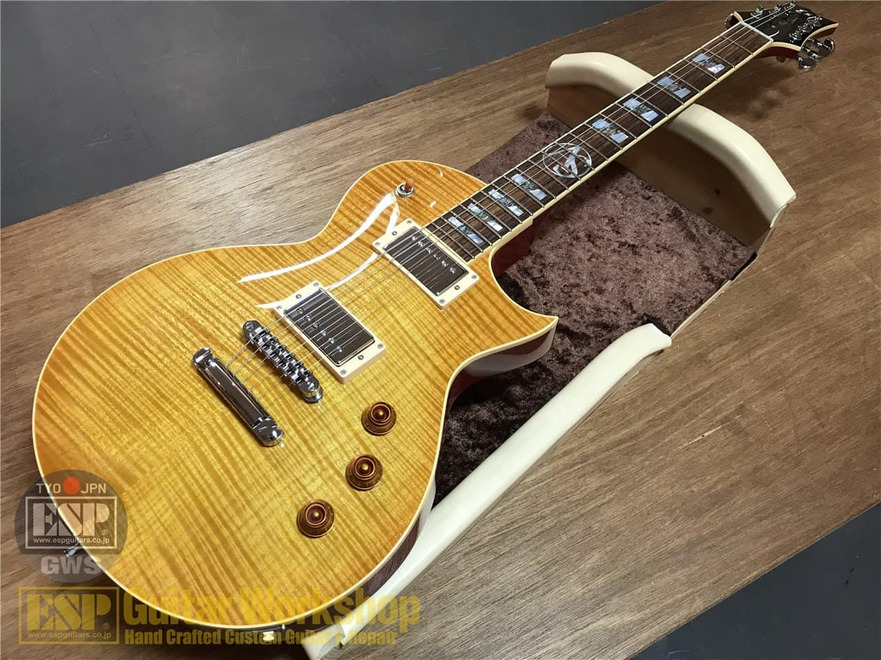 【即納可能】ESP (イーエスピー) Alex Skolnick Model ALEX SKOLNICK /Lemon Burst GWS