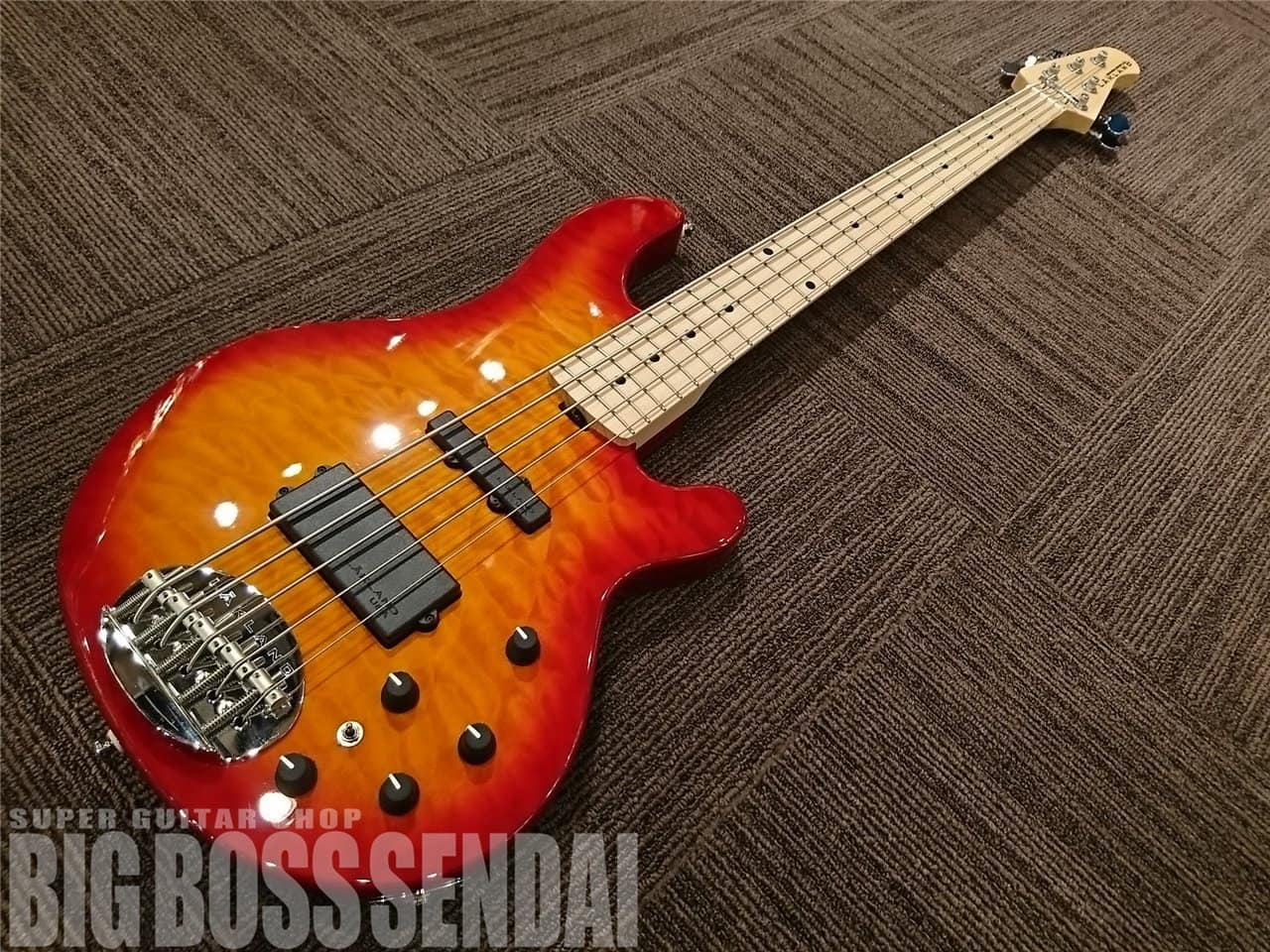 【即納可能】LAKLAND(レイクランド) Shoreline Series SL55-94 Deluxe/M/ Cherry Sunburst 仙台店