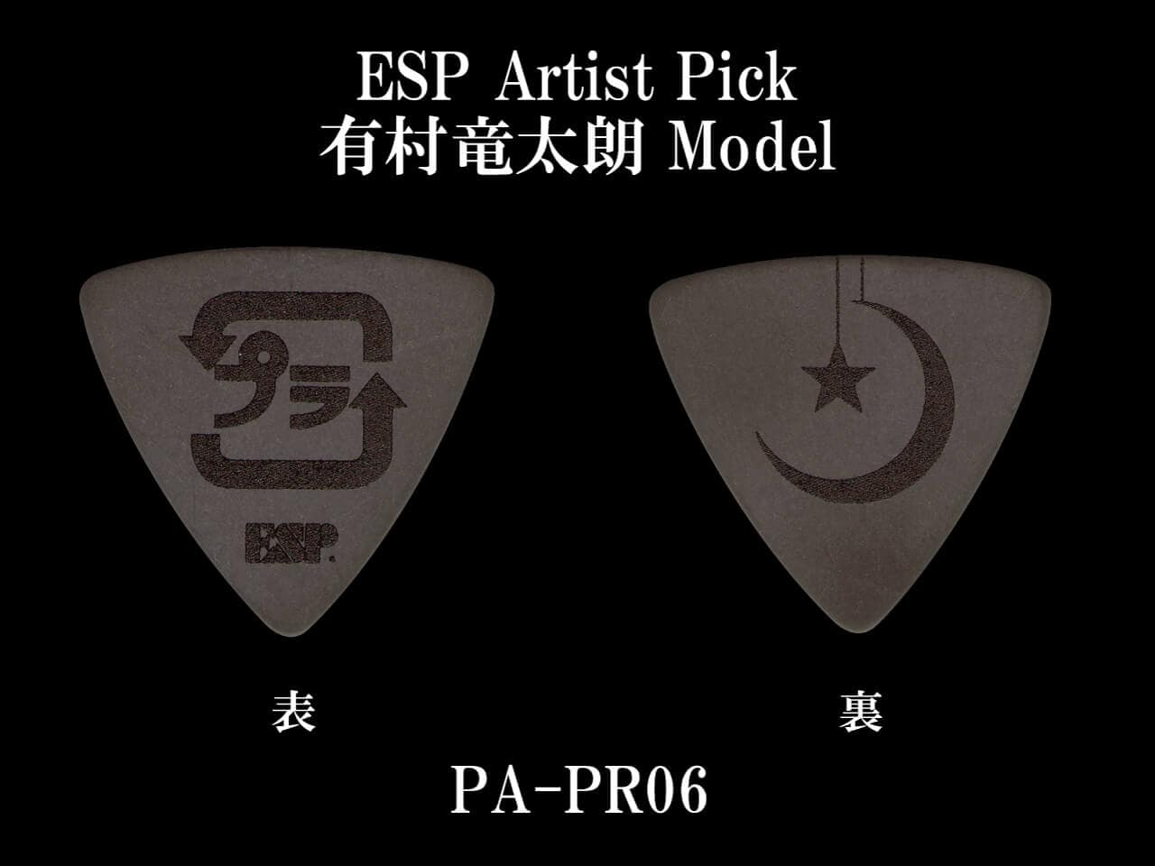 ESP(イーエスピー) Artist Pick Series PA-PR06 (PlasticTree/有村竜太朗 Model)