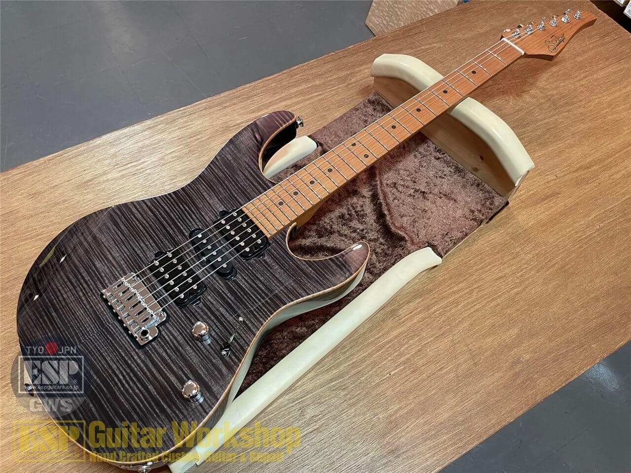 【即納可能】Suhr(サー)/J Select Modern Plus/Trans Black / Roasted Maple  GWS