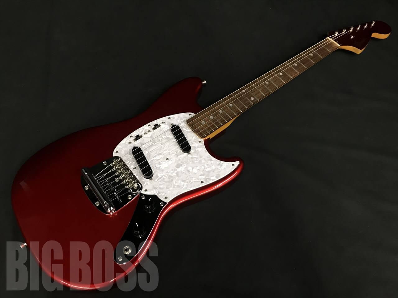 【中古品】Fender Japan MG69/MH(Candy Apple Red)