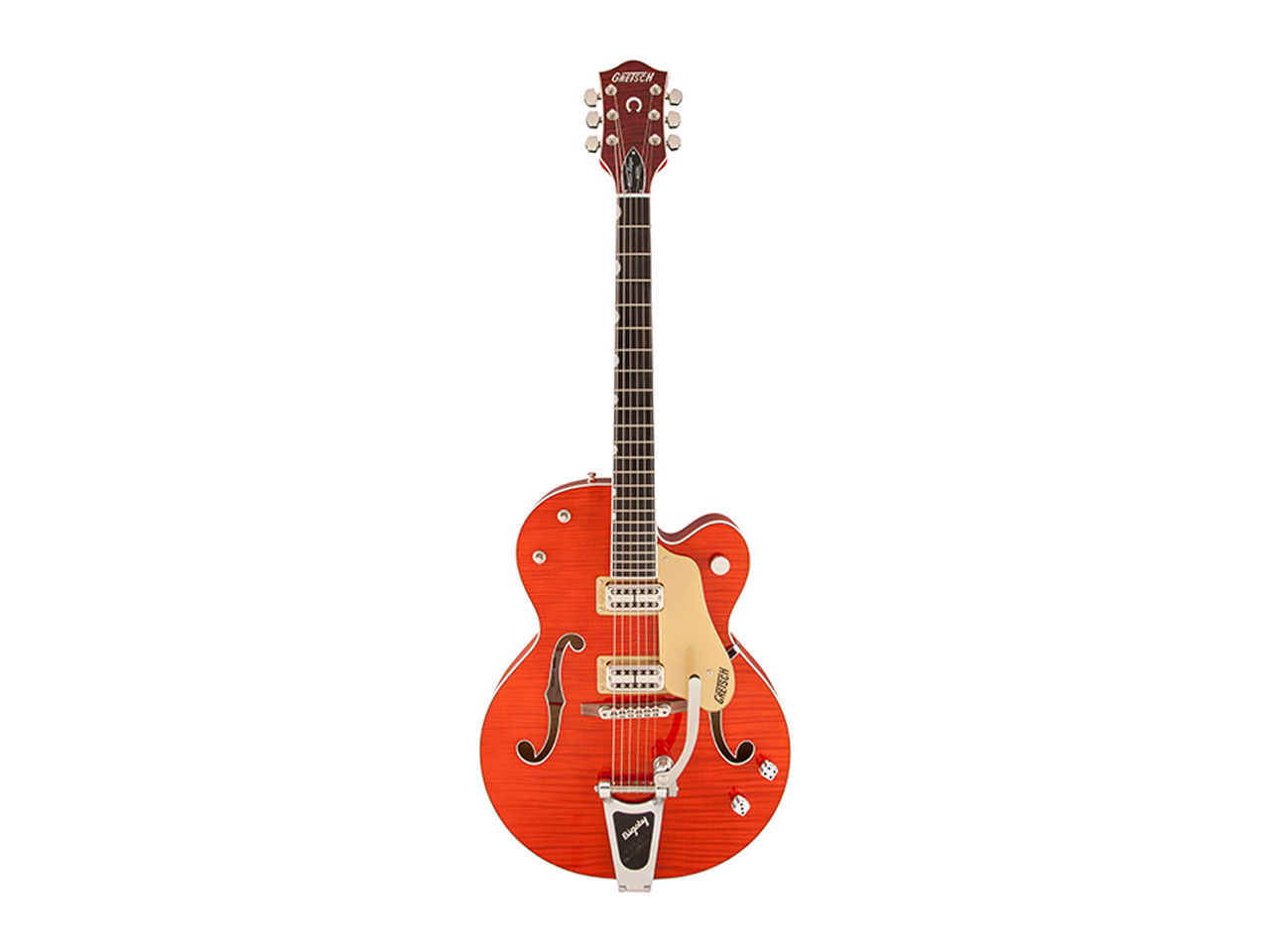 Gretsch G6120SSL Brian Setzer Nashville / Orange Lacquer