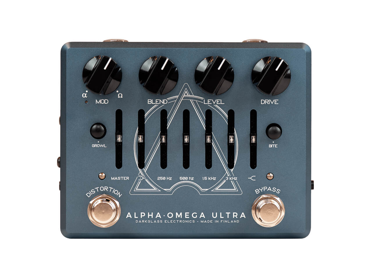 Darkglass Electronics(ダークグラスエレクトロニクス) ALPHA · OMEGA ULTRA V2 with AUX-IN (ディストーション/プリアンプ)