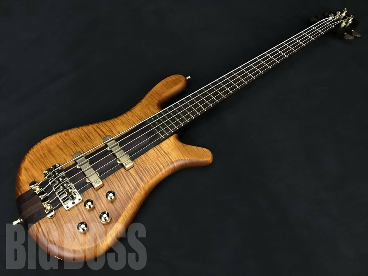【即納可能】Warwick(ワーウィック) Custom Shop Streamer Stage I 5 (Antique Tobacco Transparent Satin)  駅前店