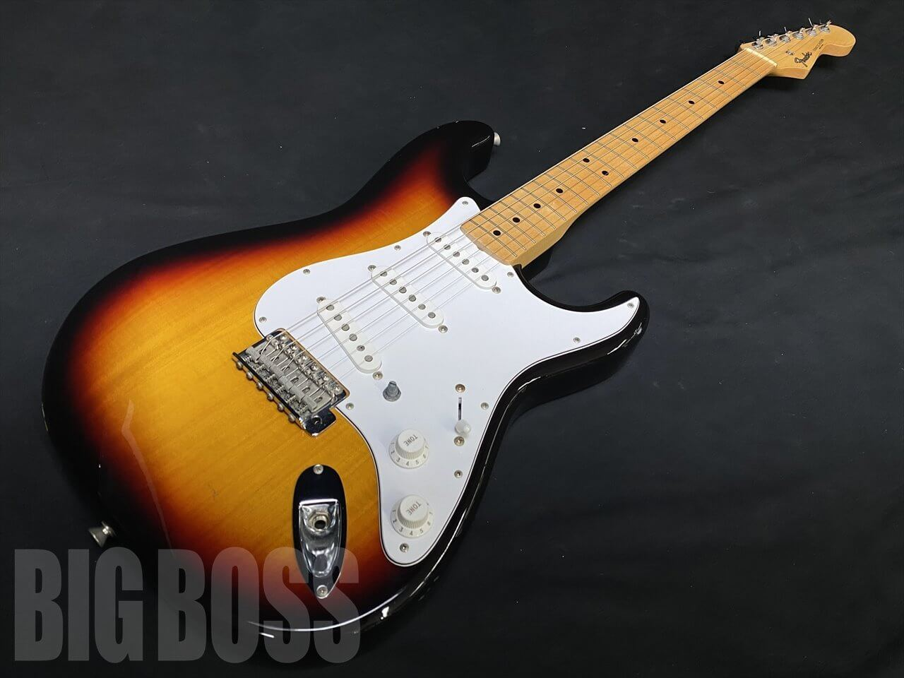 【中古品】Fender Japan ST-STD 3TS