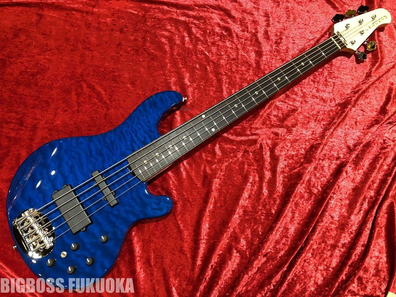 【即納可能】LAKLAND(レイクランド) SL55-94Deluxe 【Blue Transparent / Rosewood】 福岡店