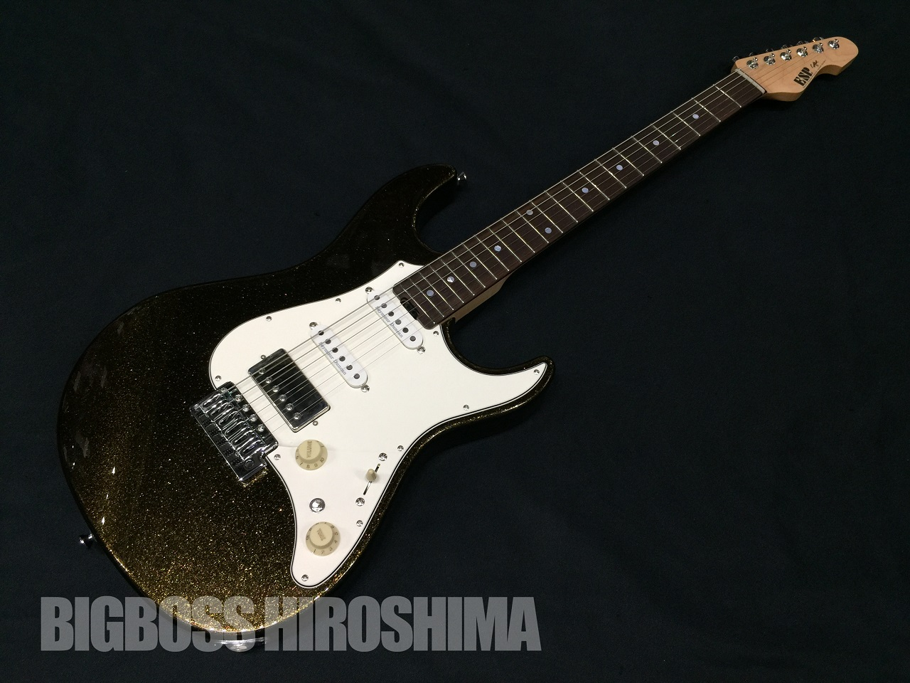 【即納可能】ESP SNAPPER-AL/R (Brass Black)【2019年最新仕様】 広島店