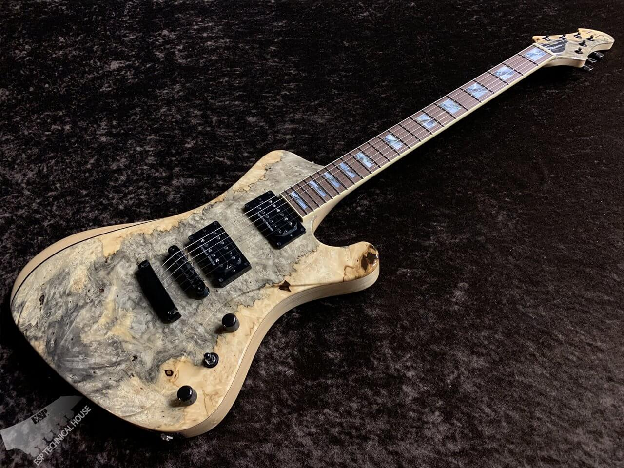 【即納可能】ESP(イーエスピー) STREAM-GT Custom Buckeye Burl【Natural】 茶水店