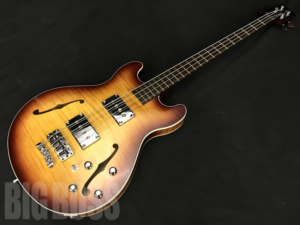 【即納可能】Warwick Custom Shop Star Bass II Maple 4 (Honey Sunburst Transparent High Polish)