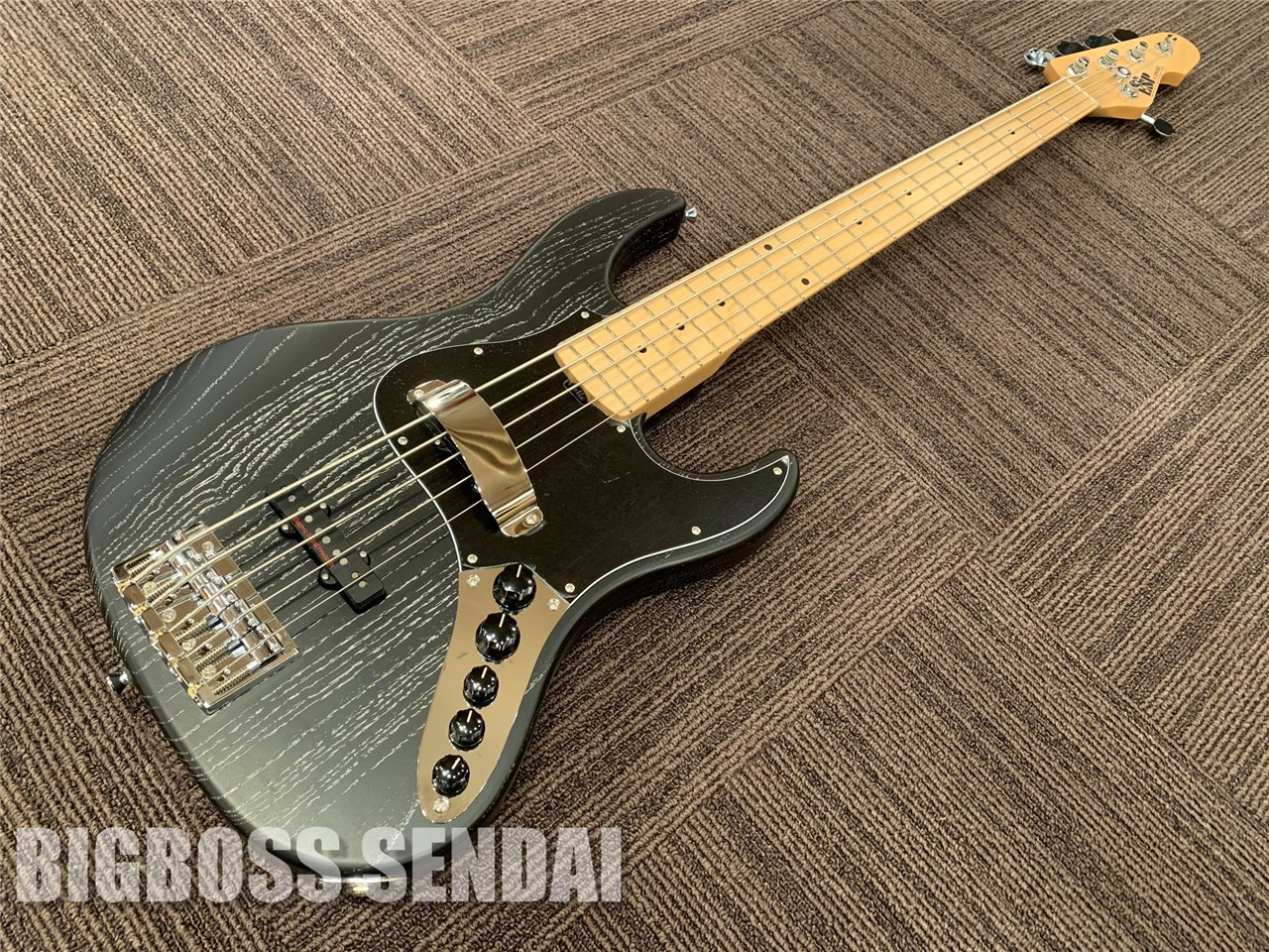 【即納可能】ESP AMAZE-AS-SL5/M (Black w/White Filler) 仙台店