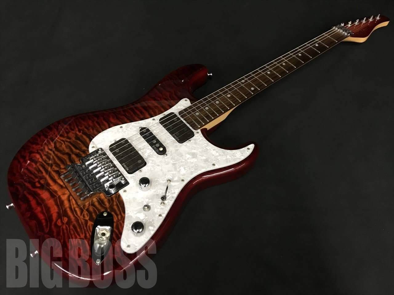 【即納可能/OUTLET】SCHECTER (シェクター) GS-1-FR / Ultimate Brown Burst 駅前店