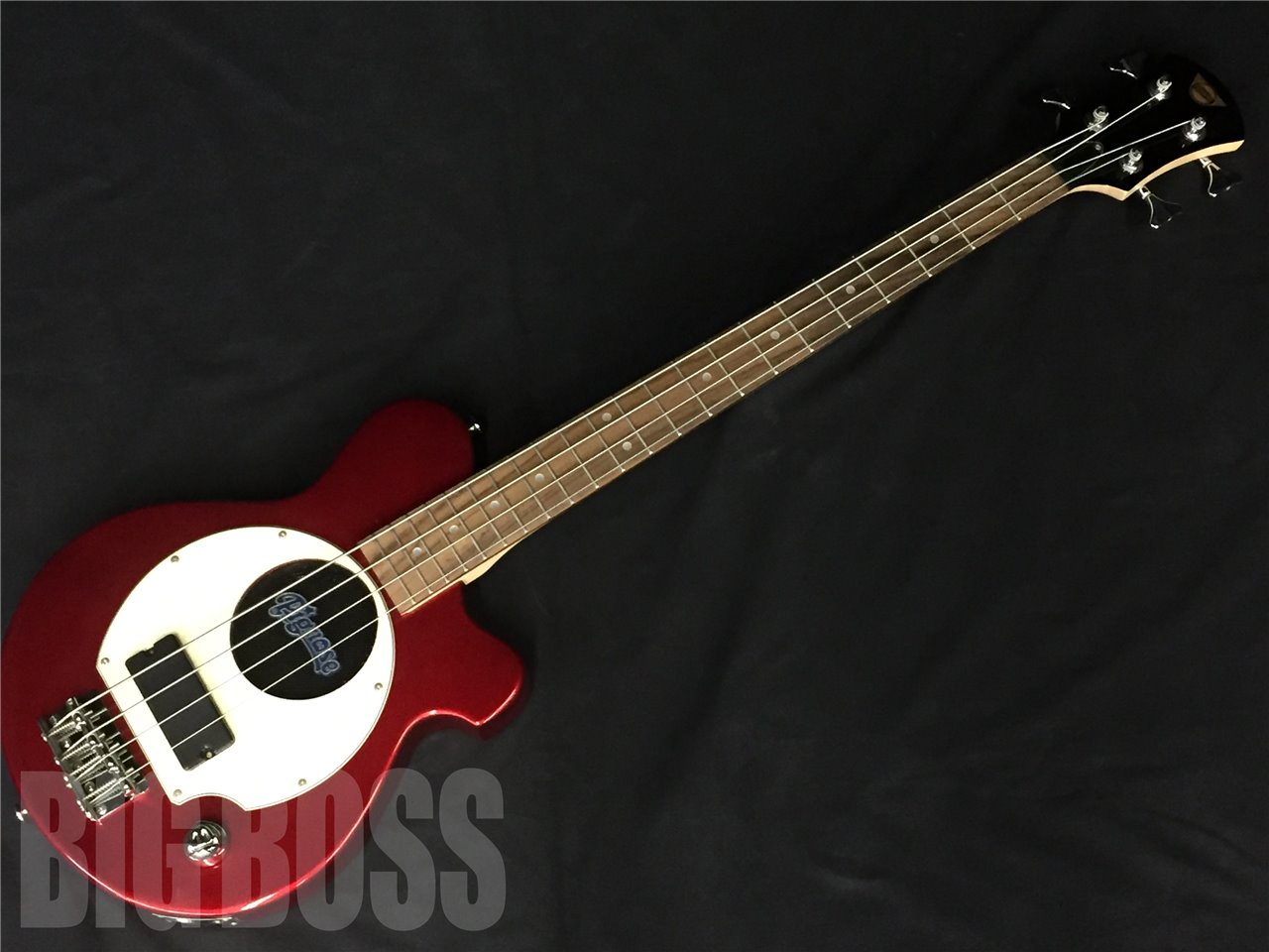 Pignose PGB-200 CA(Candy Apple Red)  【ミニギター大集合】