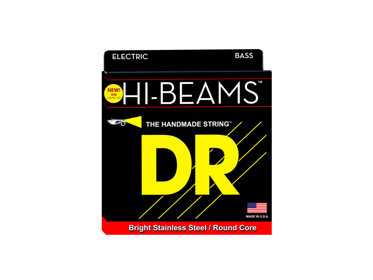 DR Strings HI-BEAM MEDIUM/Extra-long Scale (LMR-45)