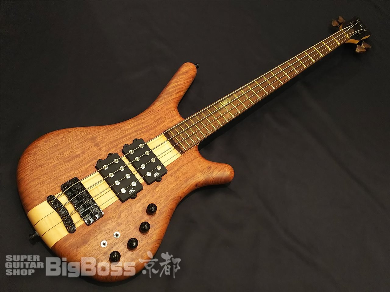 【即納可能】Warwick (ワーウィック) Custom Shop / CORVETTE $$ NT Bubinga 4 / 京都店