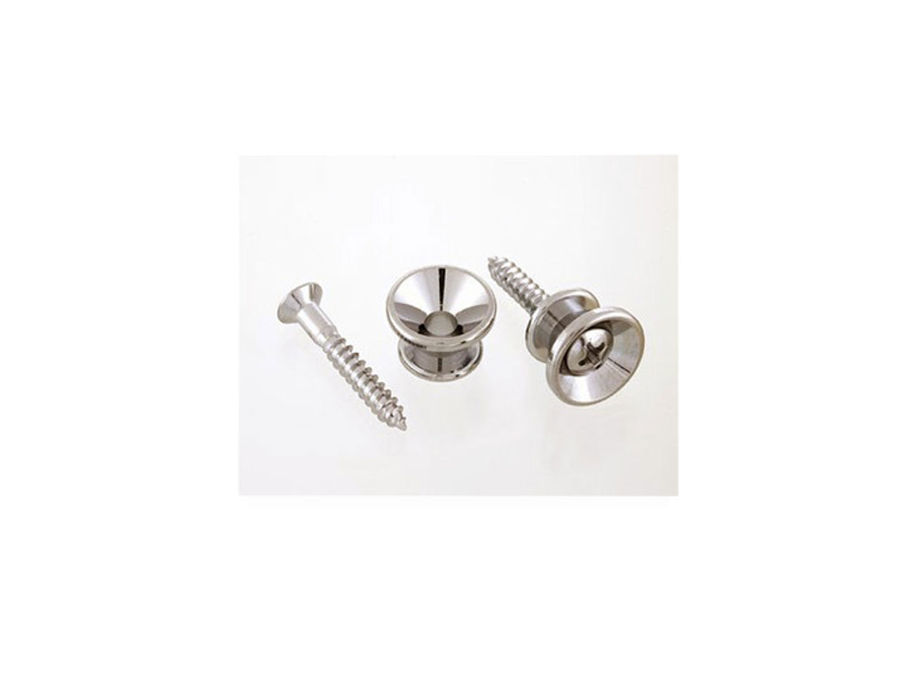 Allparts / AP-0670-001 Nickel Strap Buttons
