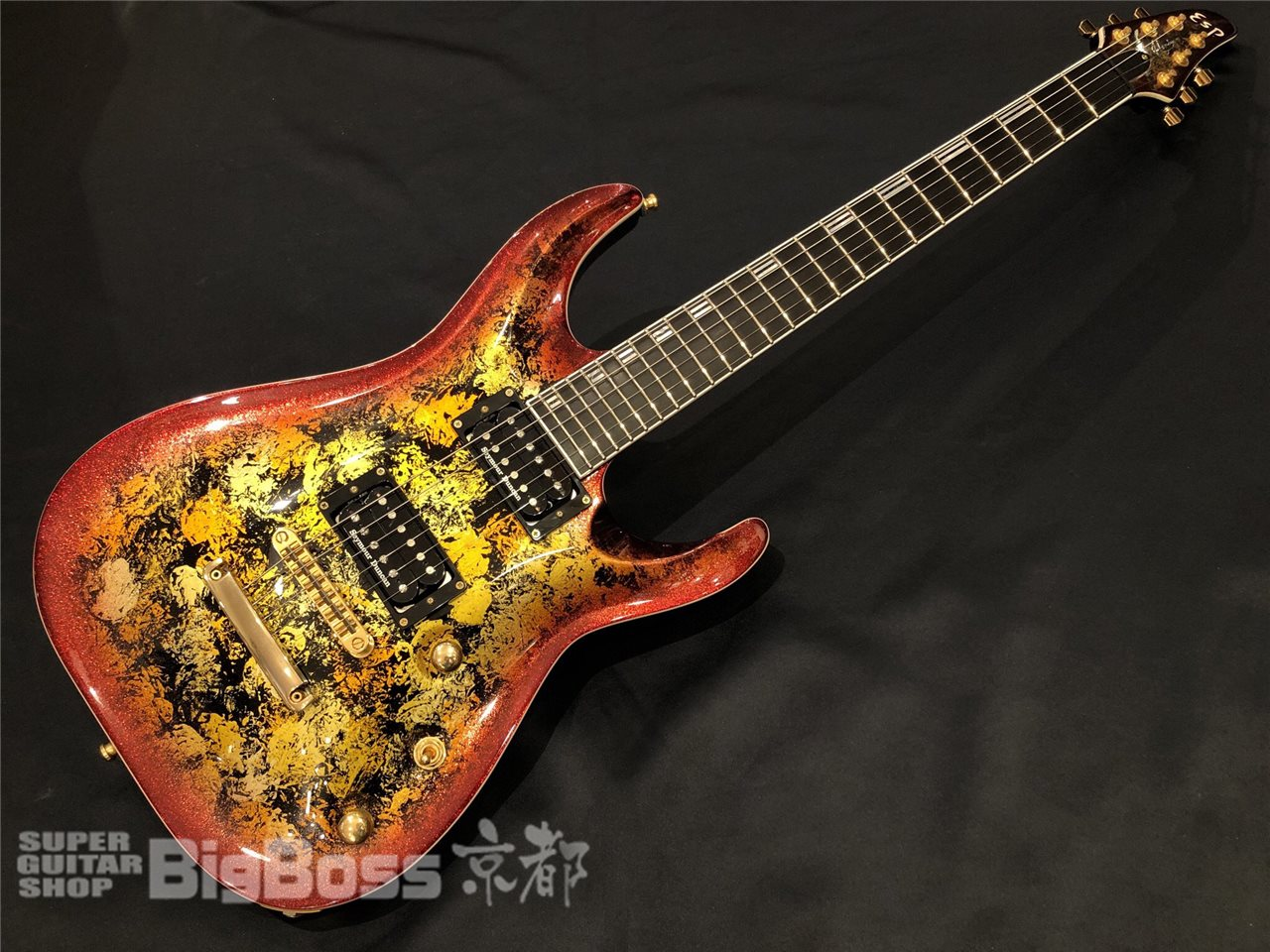 【即納可能】ESP(イーエスピー) HORIZON-PT NT / Fireopal w/Red Pearl Black 京都店