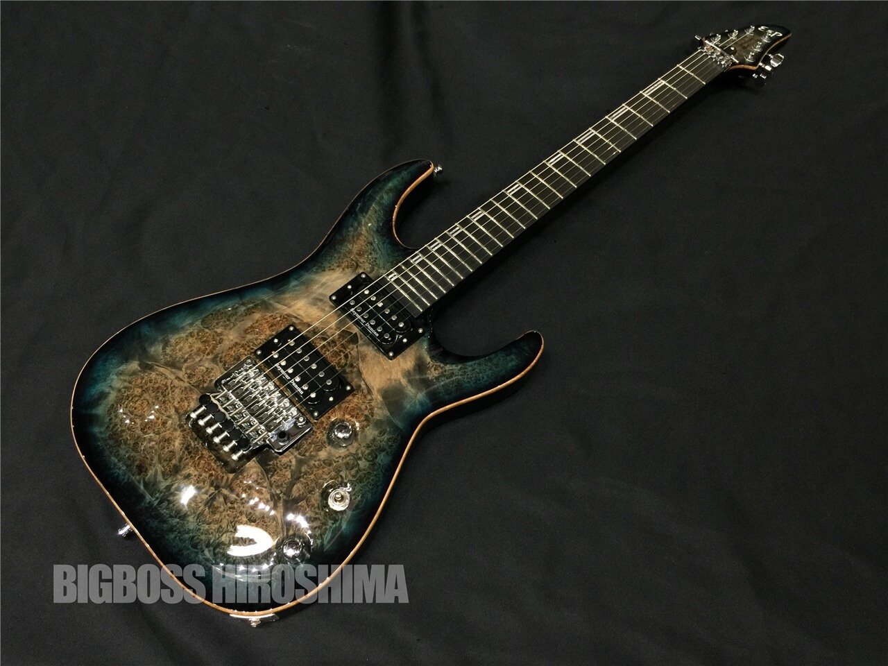 【即納可能】ESP(イーエスピ―)HORIZON-CTM FR Burled Maple/Reptile Blue Burst 広島店