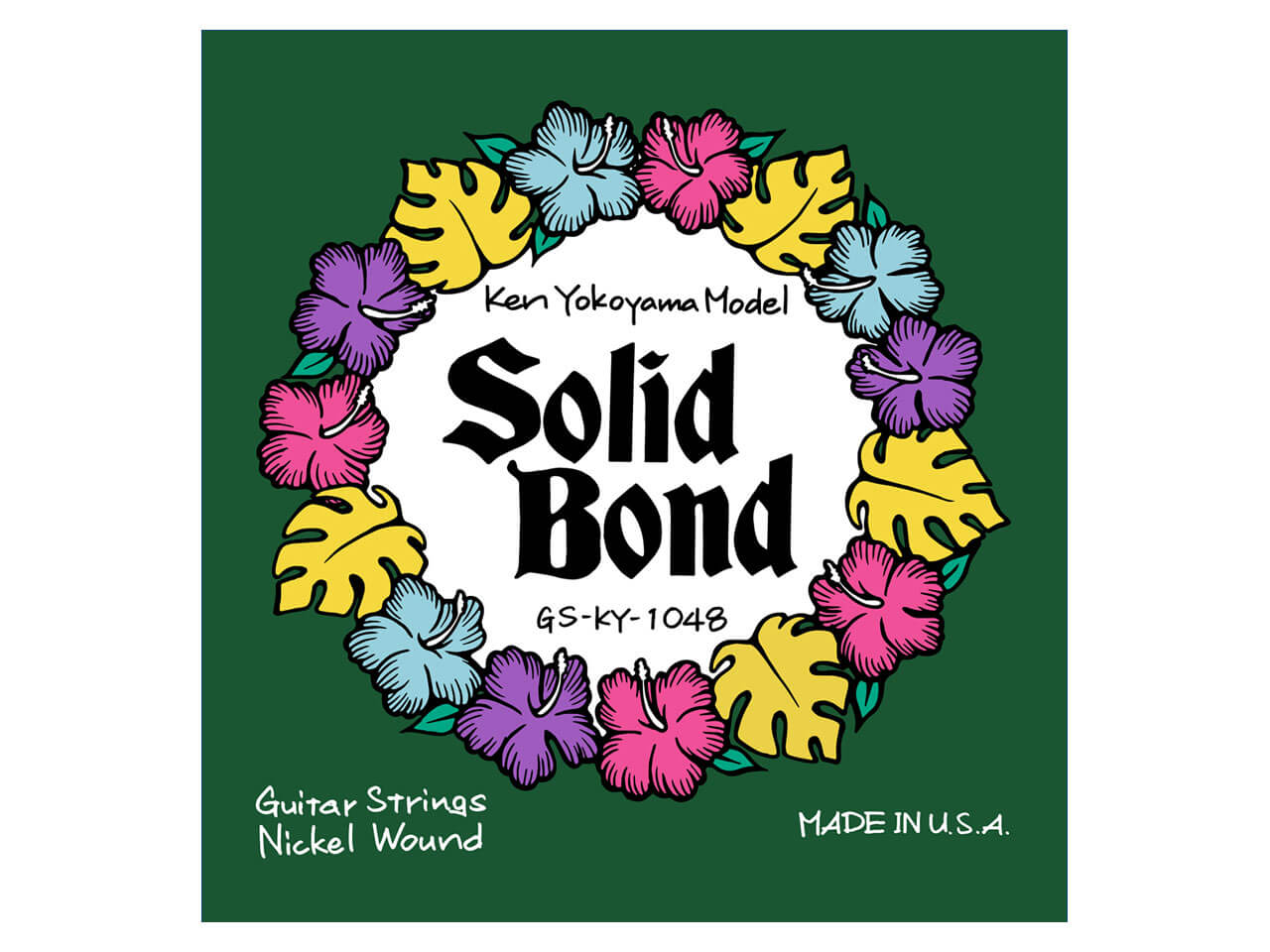 Solid Bond(ソリッドボンド) Ken Yokoyama Signature Strings [GS-KY-1048] (エレキギター弦)