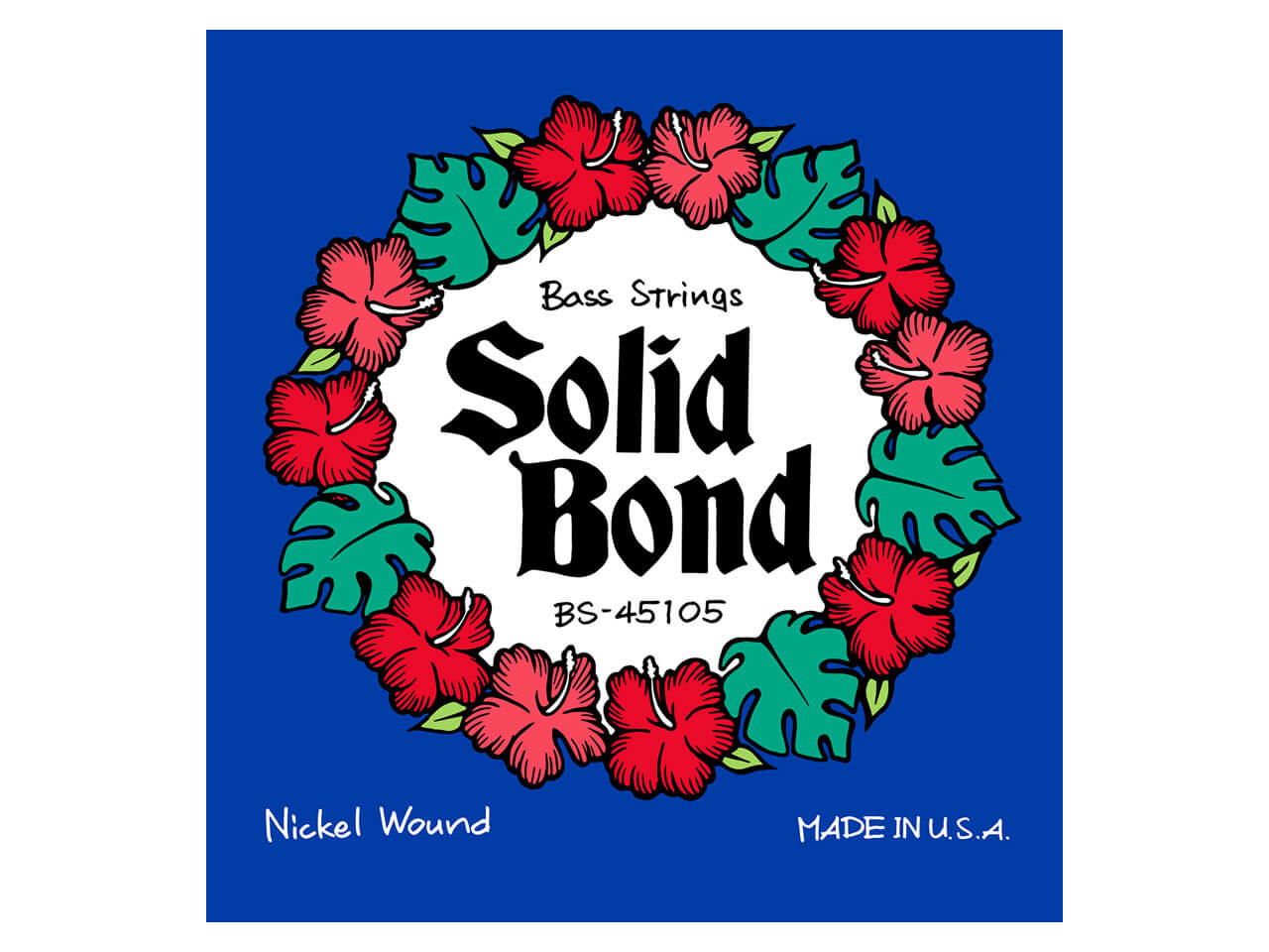 Solid Bond Bass Guitar Strings (BS-45105)