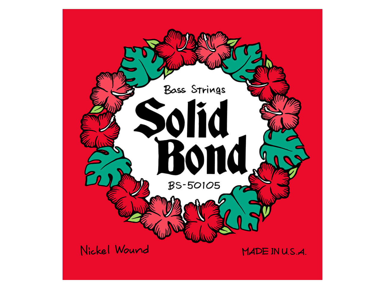 Solid Bond Bass Guitar Strings (BS-50105)
