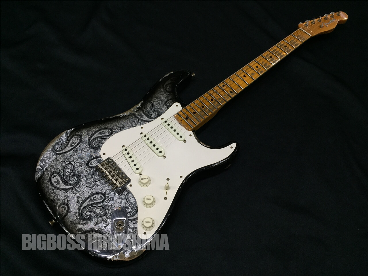 【中古品】Fender USA CUSTOM SHOP TBC Limited PAISLEY MISCHIEF MAKER Heavy Relic 広島店