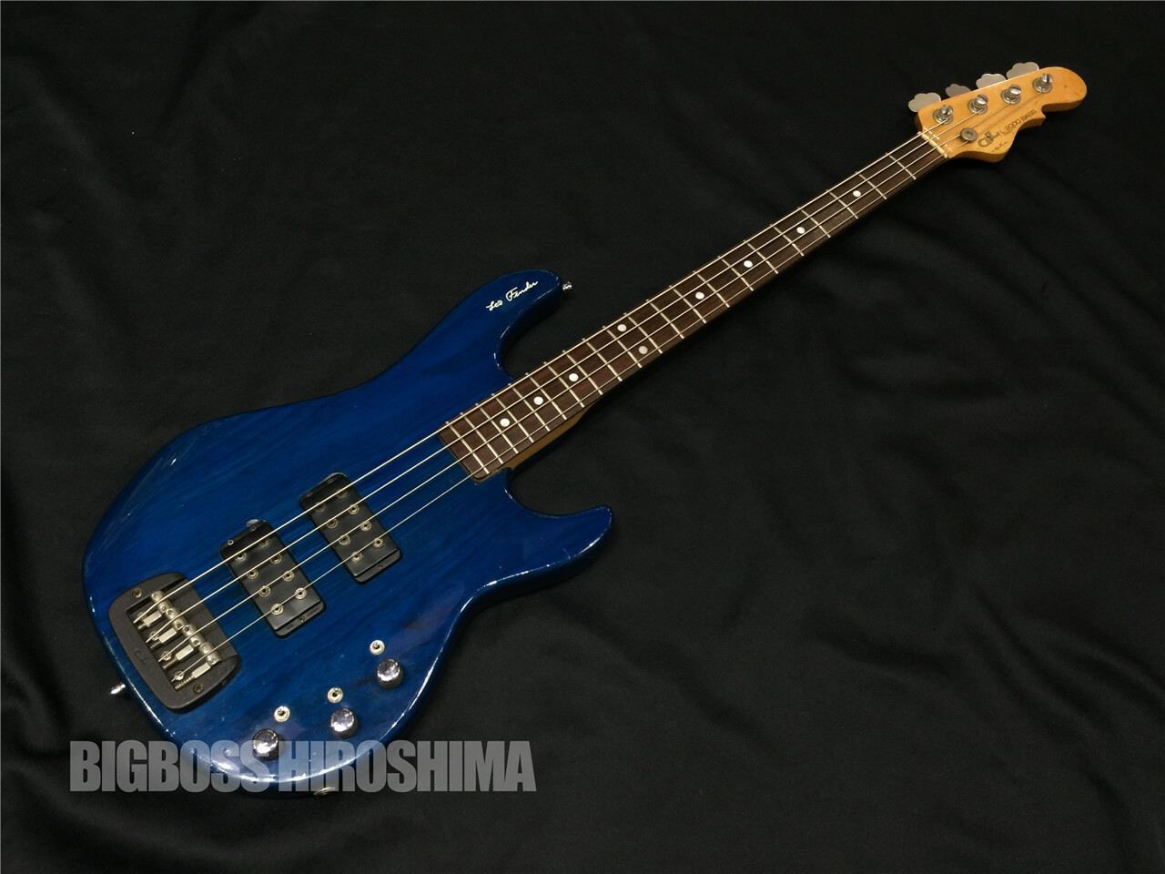 【中古品】G&L USA Series L-2000 (See Thru Blue) 広島店