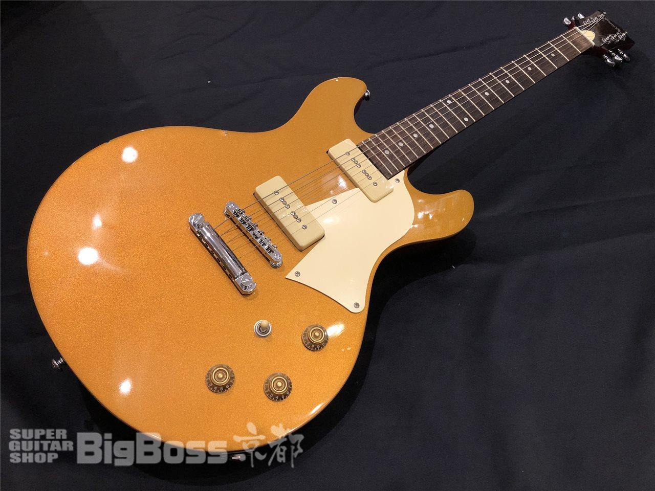 【即納可能/中古商品】Grass Roots (グラスルーツ) G-Bricoluer / Gold Top(9mm Parabellum Bullet 菅原 卓郎モデル) 京都店