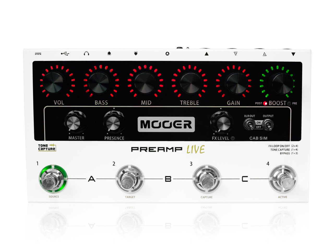 Mooer(ムーア) Preamp Live (プリアンプ)