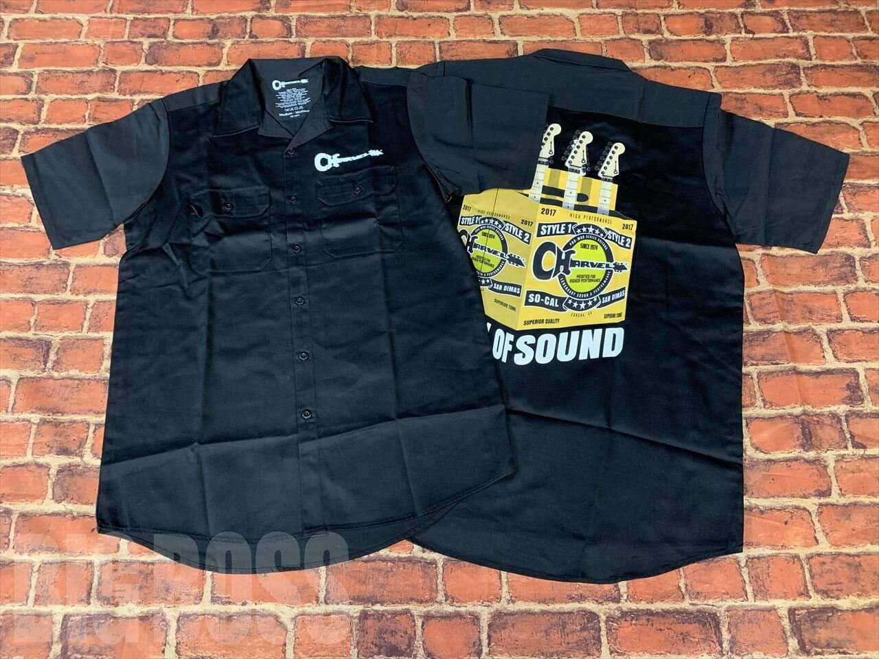 CHARVEL®(シャーベル) 6 PACK OF SOUND WORK SHIRT / Black (ワークシャツ)