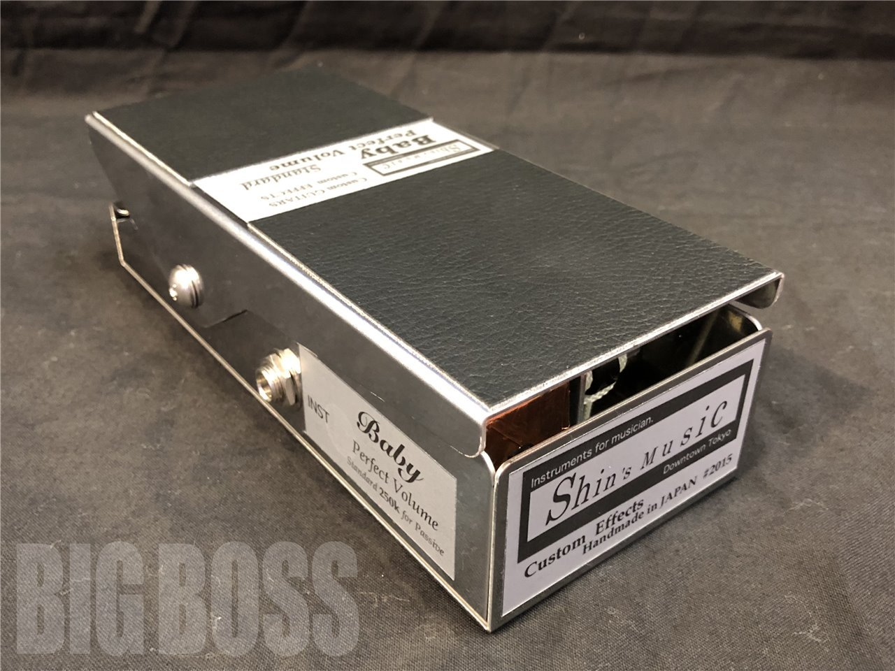 Shin's Music Baby Perfect Volume Pedal Standerd 250K Black tolex