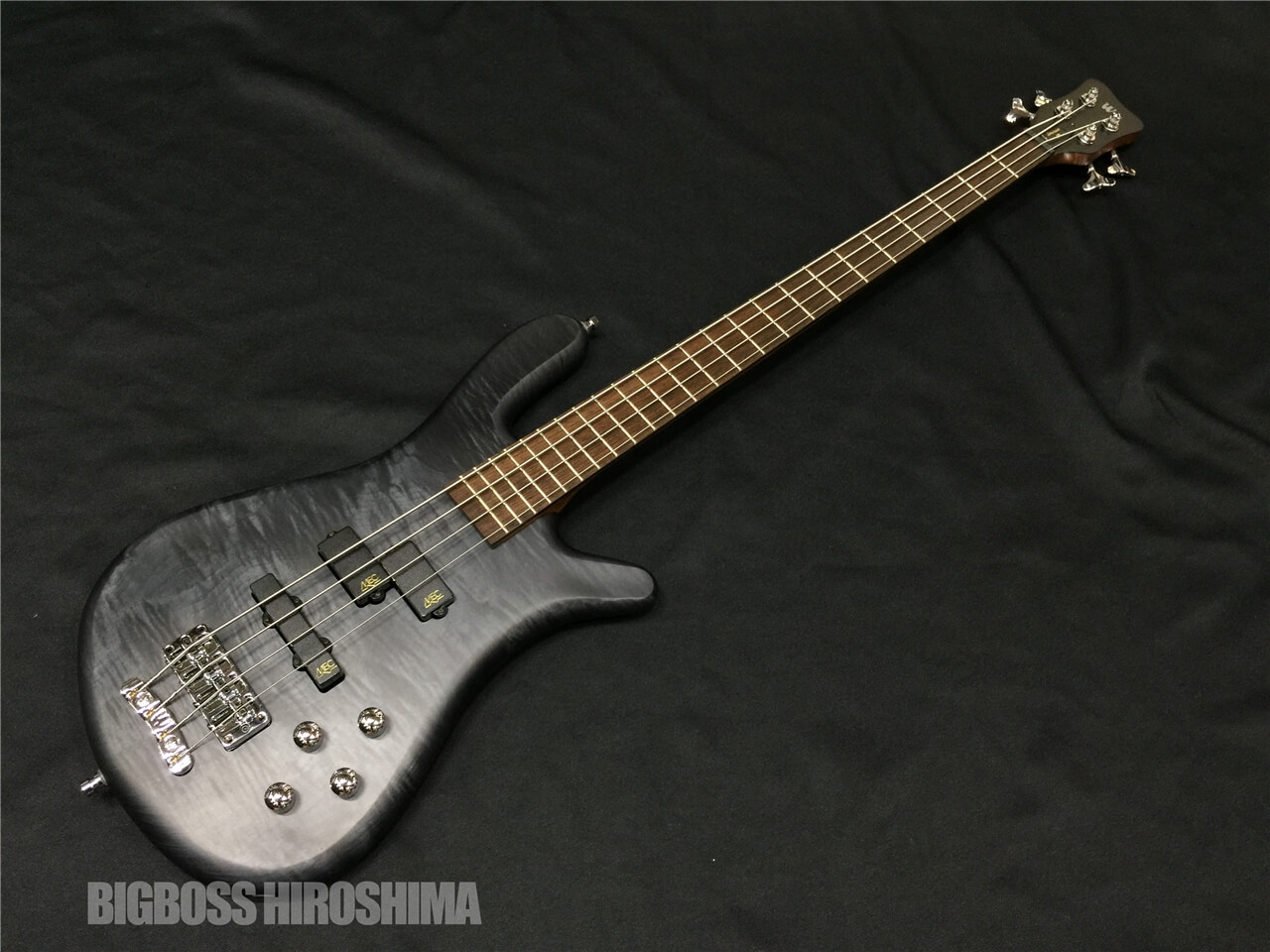 【即納可能】Warwick Team Built STREAMER LX4 (Nirvana Black) 広島店