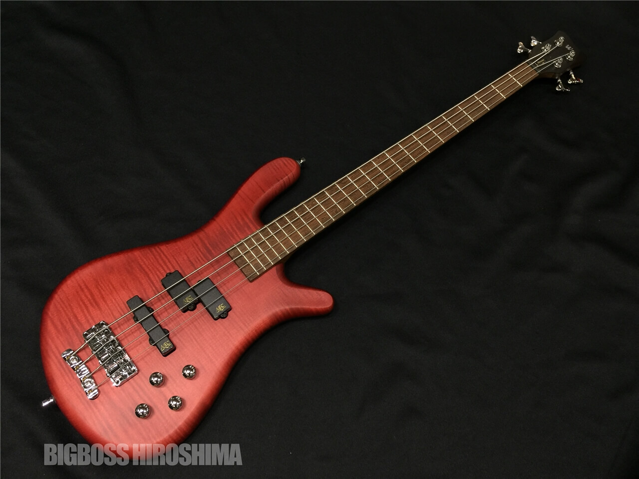 【即納可能】Warwick Team Built STREAMER LX4 (Burgundy Red) 広島店