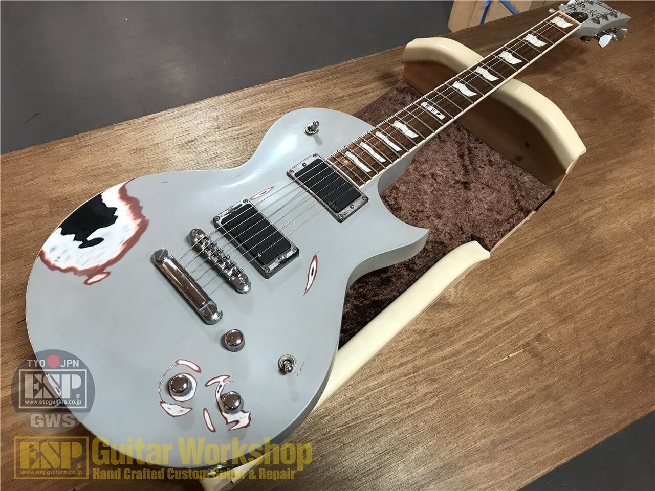 【即納可能】ESP TRUCKSTER~METALLICA James Hetfield Signature Model~ GWS