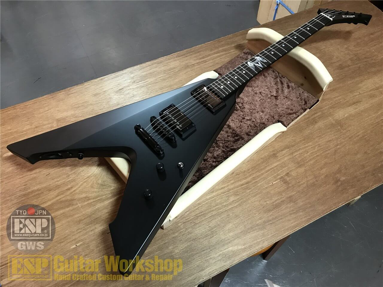 【即納可能】ESP VULTURE~METALLICA James Hetfield Signature Model~ GWS