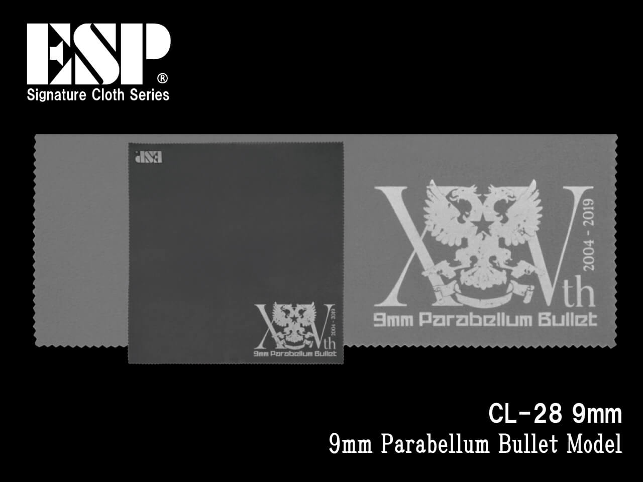 ESP(イーエスピー) Signature Cloth CL-28 9mm (9mm Parabellum Bullet Model)