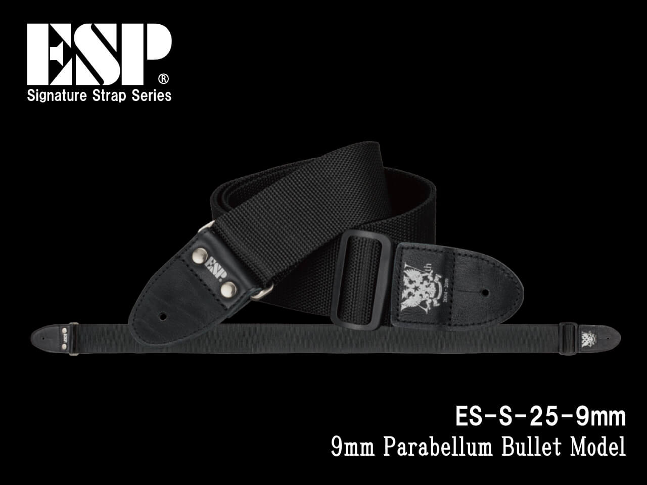 ESP(イーエスピー) Signature Strap Series ES-S-25-9mm (9mm Parabellum Bullet Model)