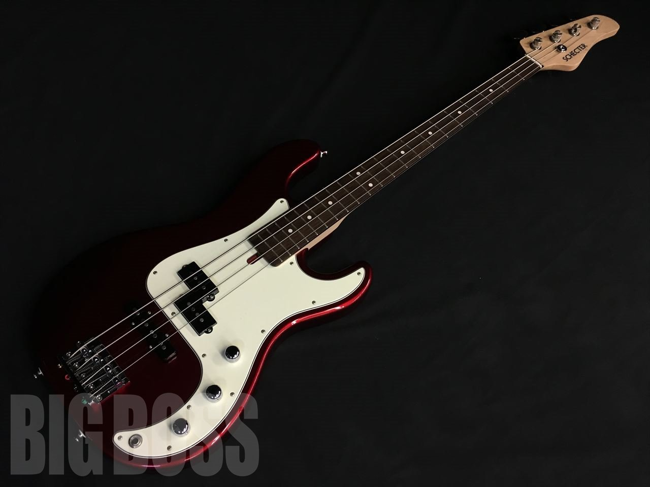 【即納可能】SCHECTER N-PJ-AL / Candy Apple Red