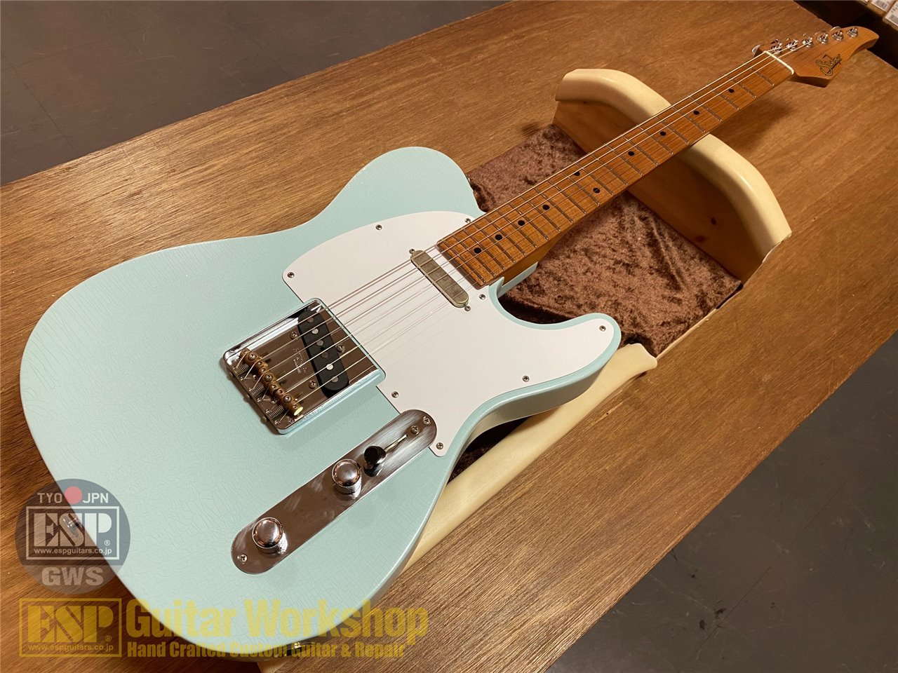 【即納可能】Suhr J Select Classic Antique T Roasted Maple WOODSHED/Sonic Blue GWS