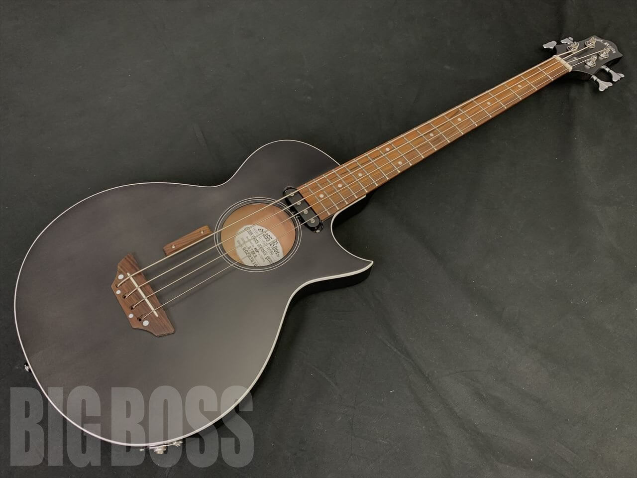 【即納可能】GrassRoots(グラスルーツ) G-AC-BASS / See Thru Black Satin