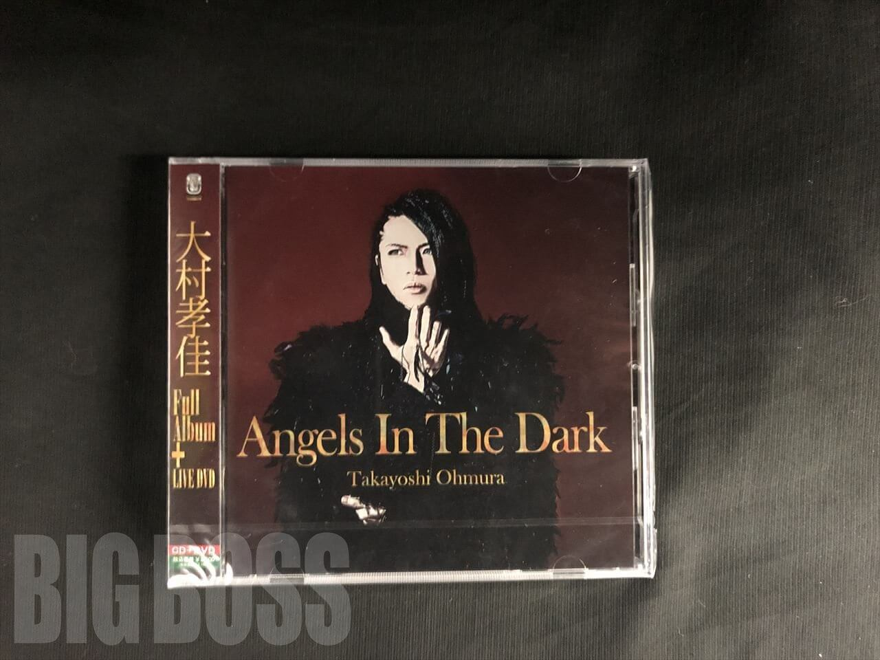 【CD+DVD】Angels In The Dark / 大村孝佳 (KSCQ-1070)