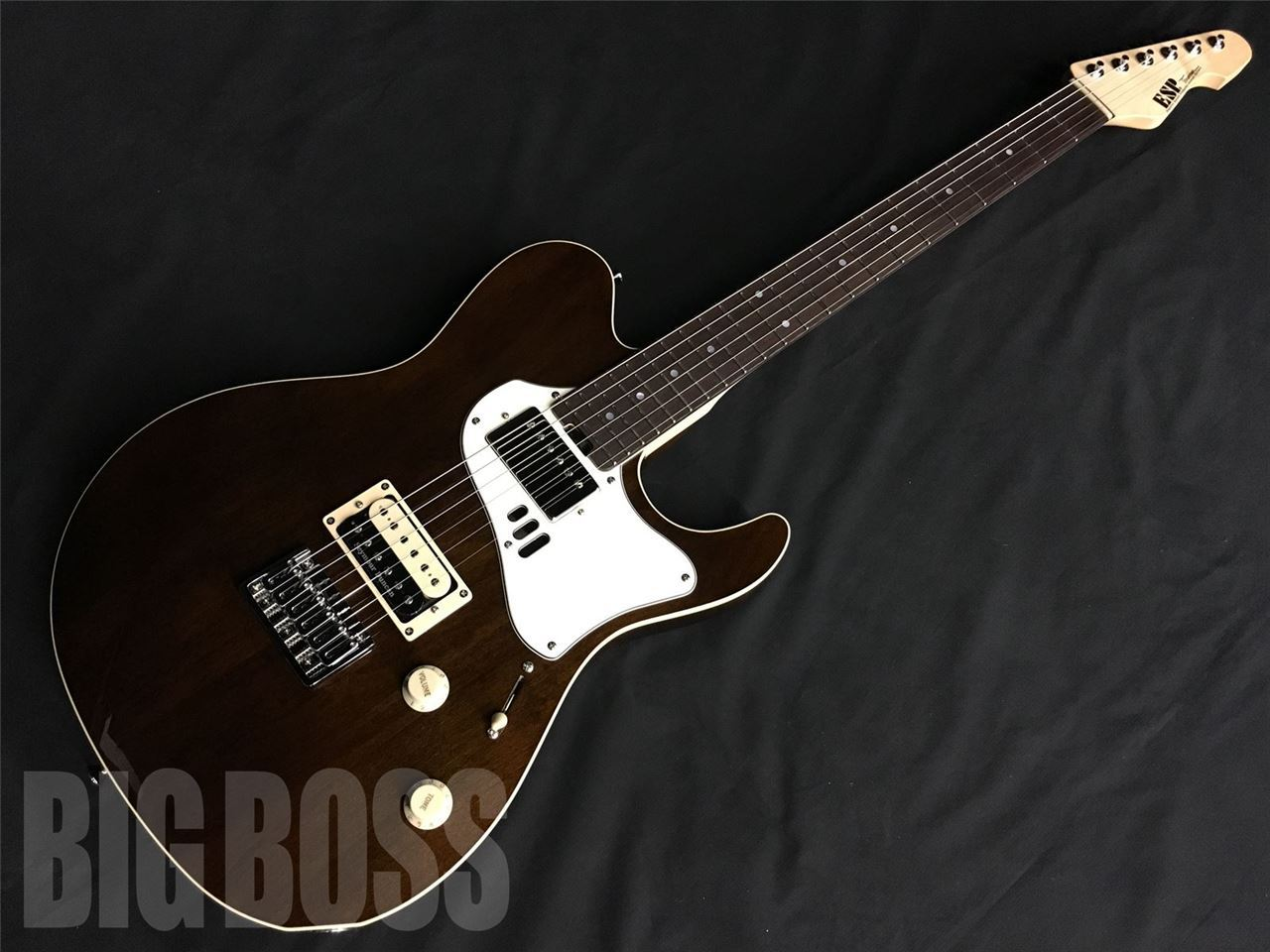 【受注生産】ESP THROBBER-STD/ R (Smorky Brown)