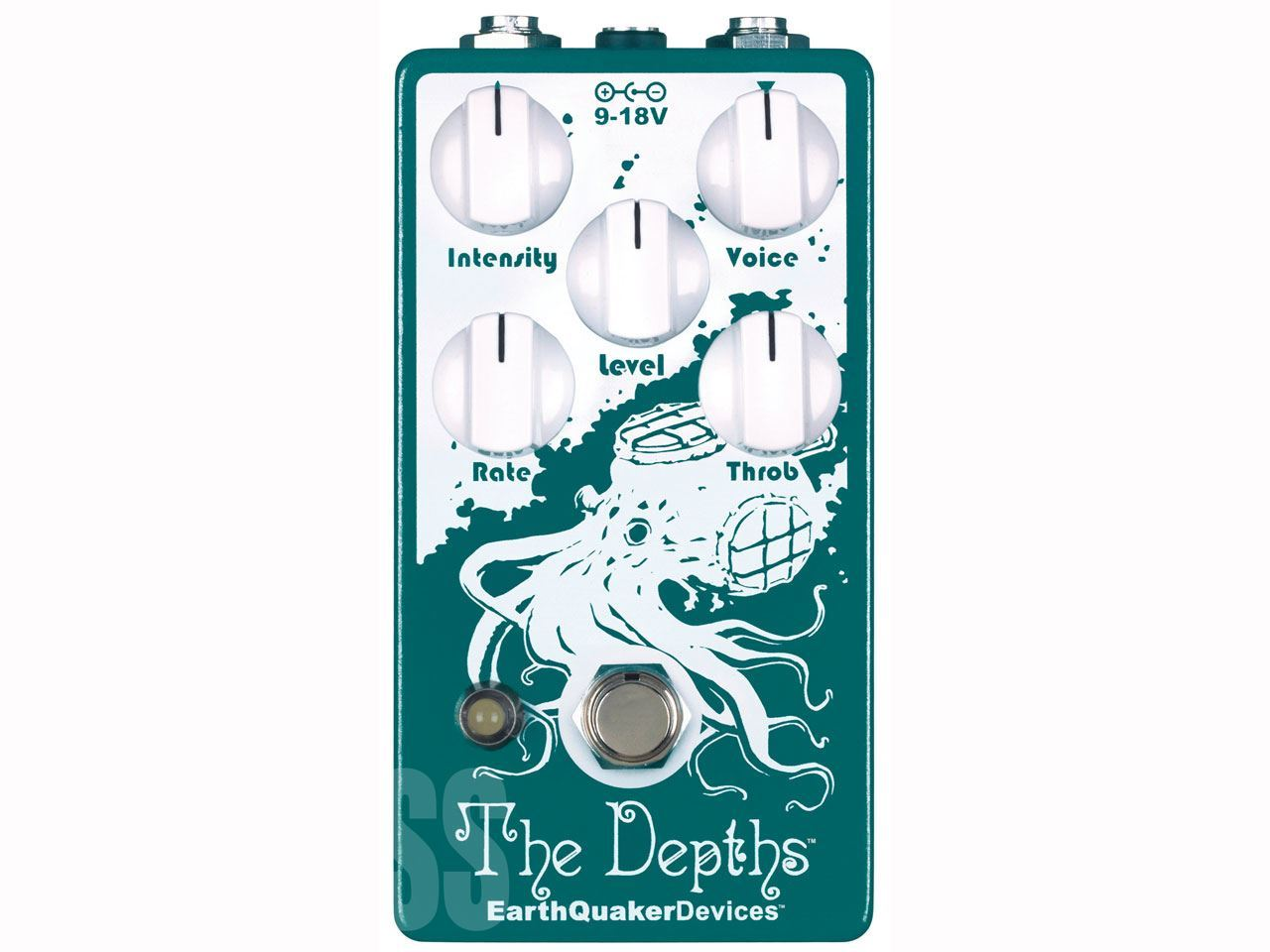EarthQuaker Devices(アースクエイカーデバイセス) The Depths (ビブラート)