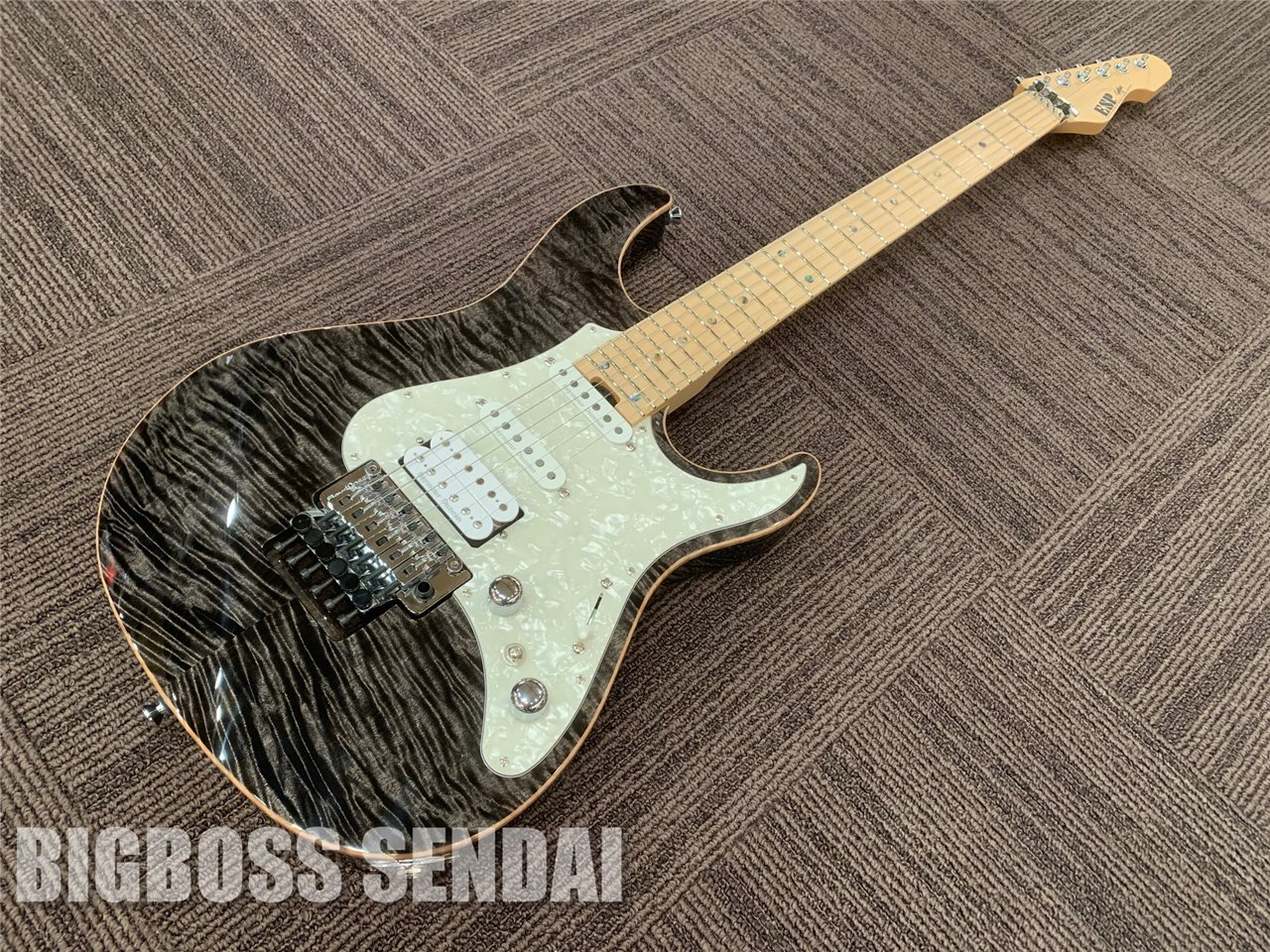 【即納可能】ESP SNAPPER-CTM24-FR/M(See Thru Black w/White Pearl Black)仙台店